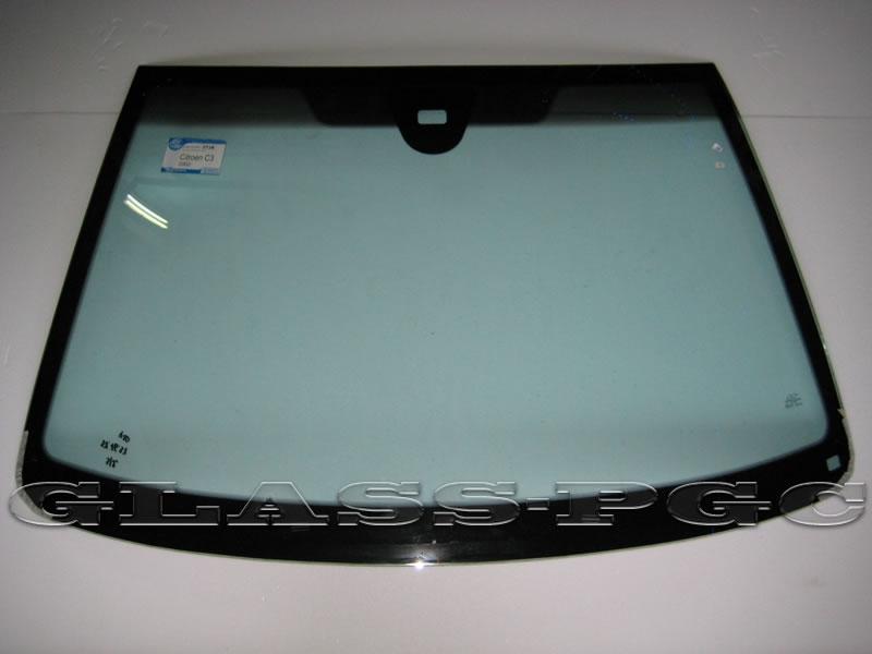 Citroen C3 (Ситроен С3) 2002 и далее г.в. стекло лобовое