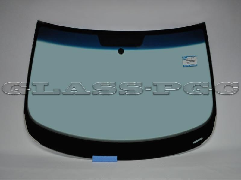 Skoda Rapid (Шкода Рапид) 2012 и далее г.в. стекло лобовое